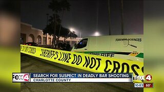 Sheriffs search for suspect in deadly bar shooting