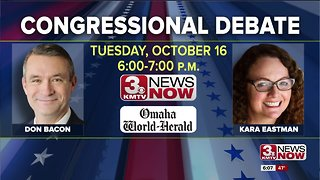 TUESDAY: Watch the Bacon, Eastman debate live on KMTV