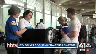 City Council discussing KCI airport