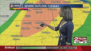 Forecast: Mostly dry, until storms return Tuesday