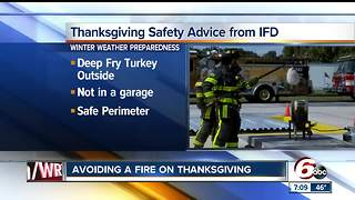 Make sure you follow safety guidelines when frying a turkey - Video