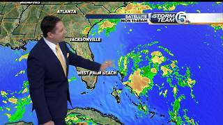 Invest 92L update: Tropical system near the Bahamas has 40% chance of development - Video