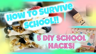 How to survive school: 5 DIY school hacks - Video