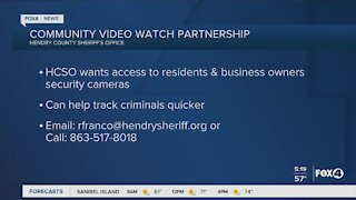 Community video watch partnership