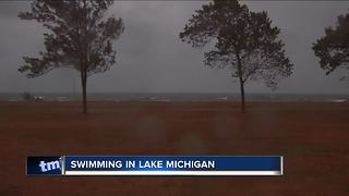 Sheriff: Two stranded on floating air mattress in Ozaukee County - Video