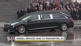 Dingell services head to Washington D.C.