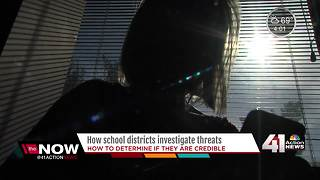 How school districts investigate threats - Video