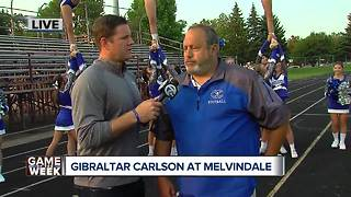 Leo's Coney Island Game of the Week: Gibraltar Carlson head coach Jack Giarmo - Video