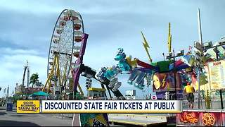 Florida State Fair discount tickets and ride armbands on sale now at Publix, online