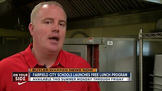 Fairfield City Schools offering students free summer lunches