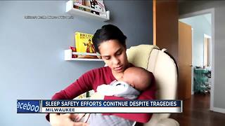 Three Milwaukee infant deaths from unsafe sleeping environments - Video