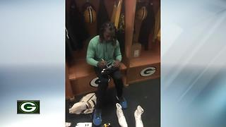 Packers fans give Davon House a ride to OTAs from Minnesota