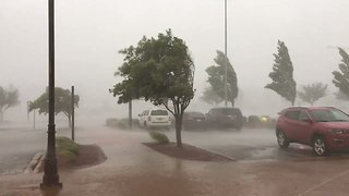 Storm Ravages Jonesboro, Arkansas - Video