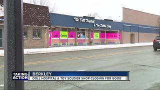 The Doll Hospital & Toy Soldier Shop closing in metro Detroit after 70 years - Video