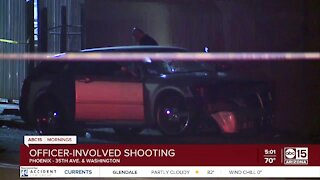 Officer-involved shooting near 35th Avenue and Washington Street