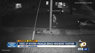 San Diego neighbors band together after theft - Video