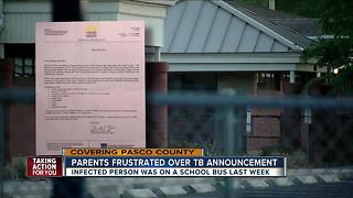 Pasco students awaiting TB test results after confirmed case - Video