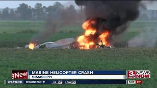 Marine Helicopter Crash - Video