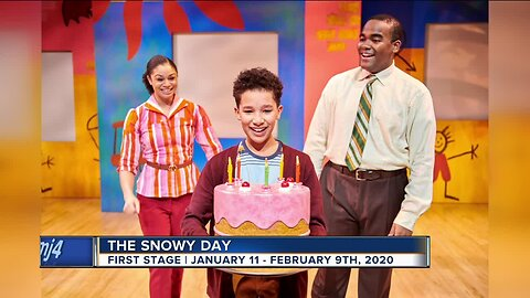 First stage brings children's book 'Snowy Day' to life