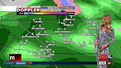 Atmospheric river heading towards the county brings steady rain across the county starting Tuesday