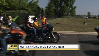 300 bikers set out to help families affected by autism