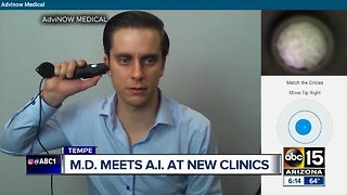A.I. powered medical clinic is first of its kind