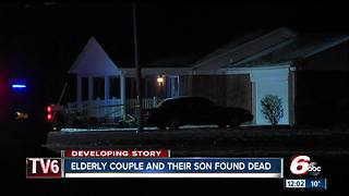 Elderly couple, son found dead in Hamilton County home on Christmas Day - Video