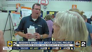 Harford Co. residents against proposed electric project - Video