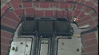 Preparations  underway for the Beyonce and Jay-Z concert - Video