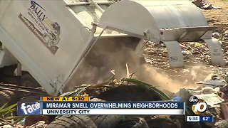 University City residents say odors from Miramar Landfill are overwhelming