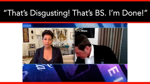Eric Bolling Storms Off Set When He's Attacked Just For Being White