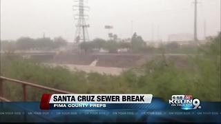 Pima County preps for Nogales sewage spread - Video