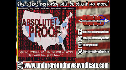 "Mike Lindell's ""Absolute Proof"" Shocking Movie Providing Actual Hard Evidence of Voter Fraud!"