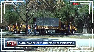 FL Department of Corrections Officer suspended after I-Team Investigation | WFTS Investigative Report - Video