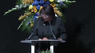 Acknowledgements at funeral of Deputy Chief James Waters - Video