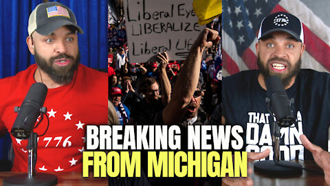 BREAKING NEWS FROM MICHIGAN!