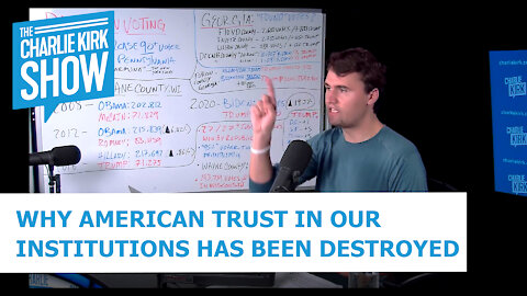 WHY AMERICAN TRUST IN OUR INSTITUTIONS HAS BEEN DESTROYED