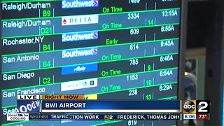 Flights cancelled, delays at BWI after FAA facility evacuation