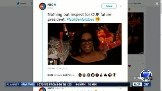 Oprah 2020 trending after Golden Globe speech - Video