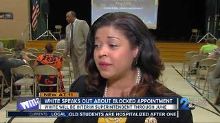 Verletta White speaks out about declined appointment to BCPS Superintendent - Video
