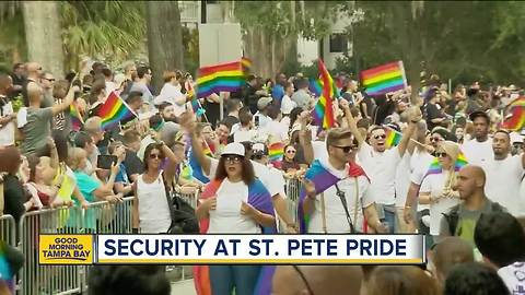 St. Pete police gearing up plan for St. Pete Pride security