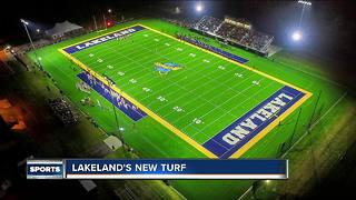 Lakeland University shows off new turf - Video
