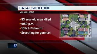 53-year-old man shot, killed on Milwaukee's north side - Video