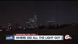 Several lights on Indianapolis' interstates aren't working - Video