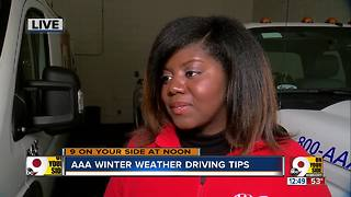 AAA winter weather driving tips - Video