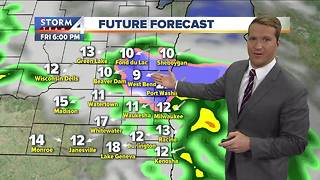 Rain showers make way for weekend warmup - Video