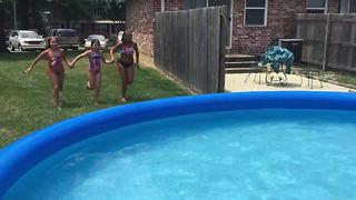 Large inflatable pools face city code issues - Video
