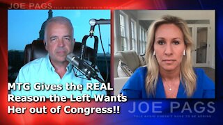 Marjorie Taylor Greene on Why the Left Wants Her Out!