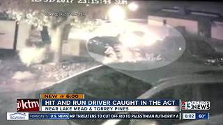 Hit and run driver caught on camera - Video