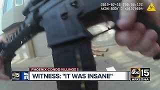 Body cam video released from deadly condo shooting